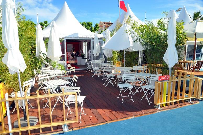 Le pavillon des Auteurs-SACD à Cannes
