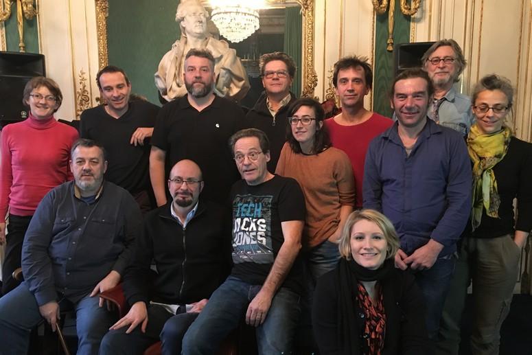 Le jury d'Auteurs d'espaces 2018