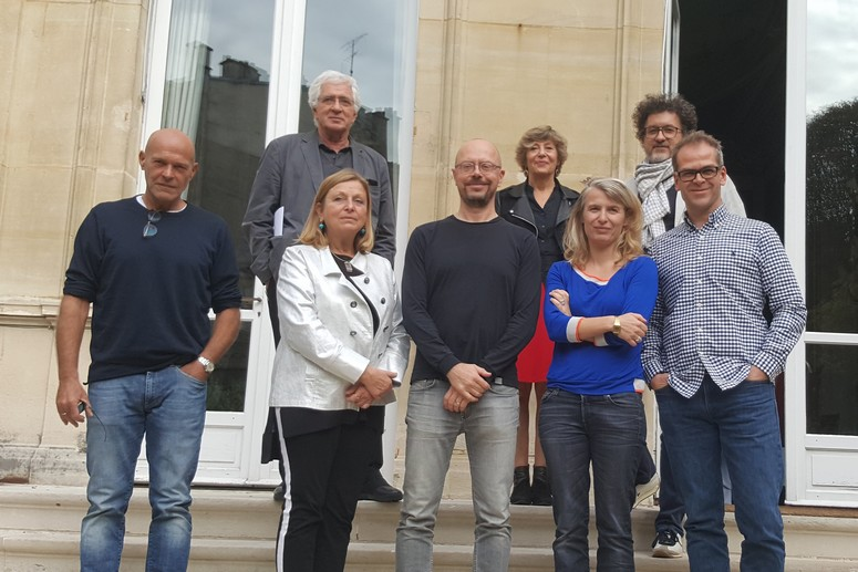 Le jury 2018 du Fonds SACD Création Séries France Europe