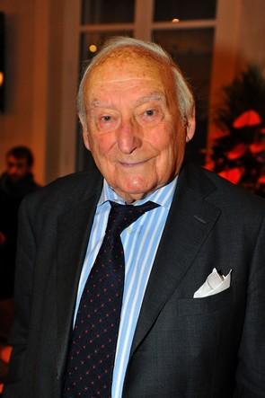 Pierre Barillet à la SACD pour Mots en scène le 7 octobre 2015.