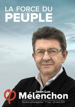 Affiche de campagne Jean-Luc Mélenchon