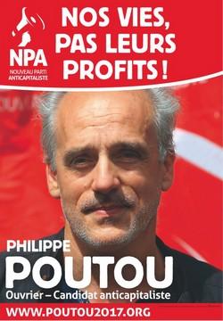 Affiche de campagne Philippe Poutou